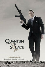 "007 Daniel Craig QUANTUM OF SOLACE 2008 Spanish DS 2 Sided 27x40"" Movie Poster"