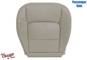 For 1998-2007 Lexus LX470 -Passenger Side Bottom GENUINE Leather Seat Cover Tan
