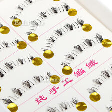 10 Pairs Makeup Lower False Eyelashes Bottom Under Eye Lashes Handmade Natural