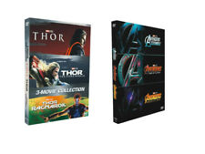 NEW Marvel THOR 3-Movie Collection Box & Avengers 3-Moivie Collection Box DVD US