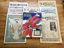 Lot of 8 Ladies' Home Journal Magazines 1892-1939 including 1934 Lifeguard Cover