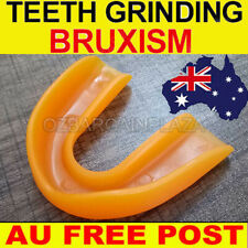 AU*Dental Mouth Guard Bruxism Splint Night Teeth Tooth Grinding Sleep Aid Orange