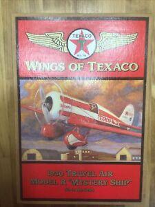 Wings of Texaco 1930 Travel Air Model R Mystery Ship