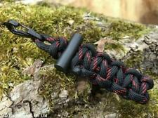 FIRECLIP FIRECORD PARACORD EMERGENCY FIRE STARTER KEYRING BUSHCRAFT SURVIVAL EDC