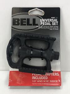 Bell universel vélo pédale SET Noir Vélo Accessoires Réfléchissant