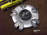 HYUNDAI HONDA ASA CUSTOM Silver WHEEL CENTER CAP HUB #AO1 back of hub