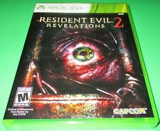 Resident Evil Revelations 2 Microsoft Xbox 360  *Factory Sealed! *Free Shipping!