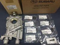 Genuine OEM Subaru 10mm Oil Pump w/ Seal & O-Ring Bolts WRX STi Legacy Forester