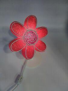 Pink - Flower - Soft Crystals - Lights up