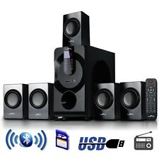 NEW Befree Sound 5.1 Channel Surround Sound Bluetooth Speaker System In BFS460