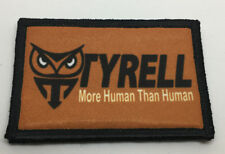 Blade Runner Tyrell Morale Patch Tactical Military Army Badge Hook Flag USA