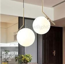 Postmodern Modo Pendant Lighting Glass Ball Golden Chandelier Droplight E27