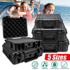 Waterproof Hard Plastic Carry Case Tools Storage Boxes Portable Organizer & Foam