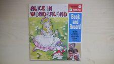 ALICE IN WONDERLAND Peter Pan Book & Record 45rpm 70s