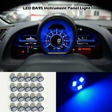 20x Blue LED Instrument Panel Cluster Light Bulb BA9S Mini Bayonet Base For Ford