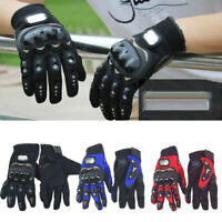 Thermal Waterproof Motorbike Motorcycle Gloves Carbon Knuckle Protection L-XXL