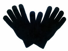 Quality Mens Touch Screen Gloves Cashmere Wool Black iPad iPhone Smart