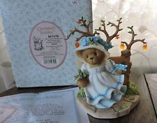 Cherished Teddies Edna Leaves of Change Bring Memories Girl Tree Figurine 867470