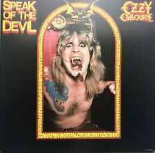 "Ozzy Osbourne Speak Of The Devil 12""x12"" Original promo album cover flat 1982"