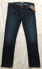 GUESS Alameda Men's Jeans 36 x 32 Slim Fit Tapered Leg Ace-High Wash NWT $89