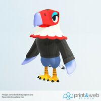 Animal Crossing Motif Brillant PVC vinyle autocollants-Ordinateur Portable Téléphone STICKERS VOITURE