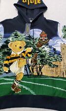 NWT Polo Ralph Lauren Medium Rugby Kicker Bear Hoodie POLO BEAR