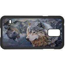 Buffalo And Wolf Hard Case Cover For Samsung New
