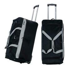 XXXL Extra Large Travel Luggage Wheeled Trolley Holdall Suitcase Duffel Bag Fold