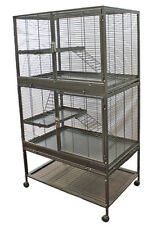 Mansion Cage (4-Level) - for Chinchillas, Hedgehogs, Rats, Ferrets, Degus