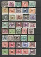 Eastern Silesia MH collection, 54 stamps