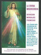 image pieuse de Jesus santino holy card estampa