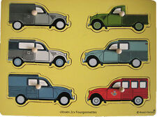 Citroën 2 CV fourgonnettes puzzle auto Collection Collectible Vans LKW Sammlung
