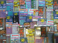 25 California Lottery Tickets Ten Dollar Second Chance Scratchers 2nd Redeemable
