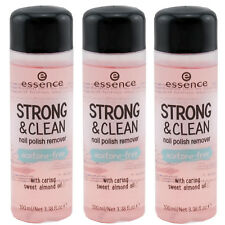 essence STRONG & CLEAN Nagellack Entferner Nail Polish Remover 3 x 100 ml