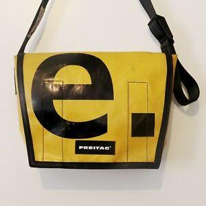 Freitagtasche F12 Dragnet Messengerbag Umhängetasche Gelb Schwarz