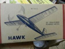 SuperFlite Hawk by Jetco Balsa Airplane Kit Vintage rare
