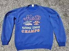 Vintage 1986 NY Mets World Series - National League Champs Sweatshirt - Large