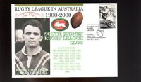 SOUTH SYDNEY RABBITOHS 1900-2000 RUGBY COVER, CHURCHILL