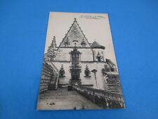 Nantes Le Chateau Tour Du Fer A Cheval France Vintage Unused B&W Postcard PC36