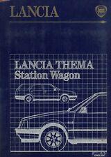 LANCIA THEMA STATION WAGON ORIGINALE PRESS KIT 1986 TESTO INGLESE + 10 foto