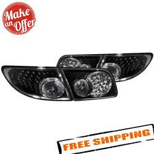 Spyder 5013101 Black Led Tail Lights For 2003 2008 Mazda 6 45dr Fits Mazda 6
