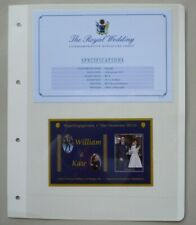 More details for 2011 royal engagement william & kate 16 nov 2010 aitutaki miniature sheet mnh