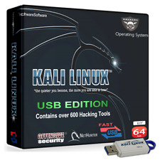 KALI LINUX - 64GB USB DRIVE - ULTIMATE EDITION 2020 - HACKING OPERATING SYSTEM