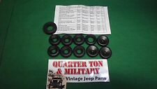Jeep Willys GPW MB CJ2A WWII Fire wall Grommet set by MV Spares G503