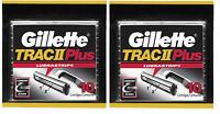 Gillette TRAC II Plus Razor Blade Refill Cartridges - 20 Count (Bulk Packaging)