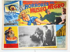 Horrors Of The Black Museum  ! Hypno-Vision !  Lobby Card Poster Terror 1959