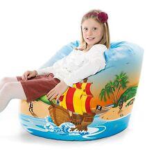 STAR BUY Comfy Large 'Pirate' Handle Bean Bag Kids Childrens