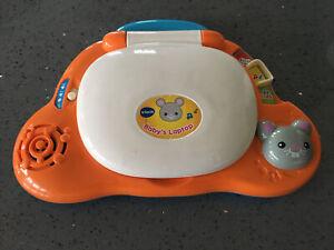 Vtech Baby's Orange Laptop