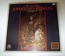 Telefunken BWV 245 SKH 19 German Pressing Bach Johannes Passion (3) LP Box Set