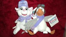Disney's THE RESCUERS  in Mini Bean Bag Plush Bianca and Orville